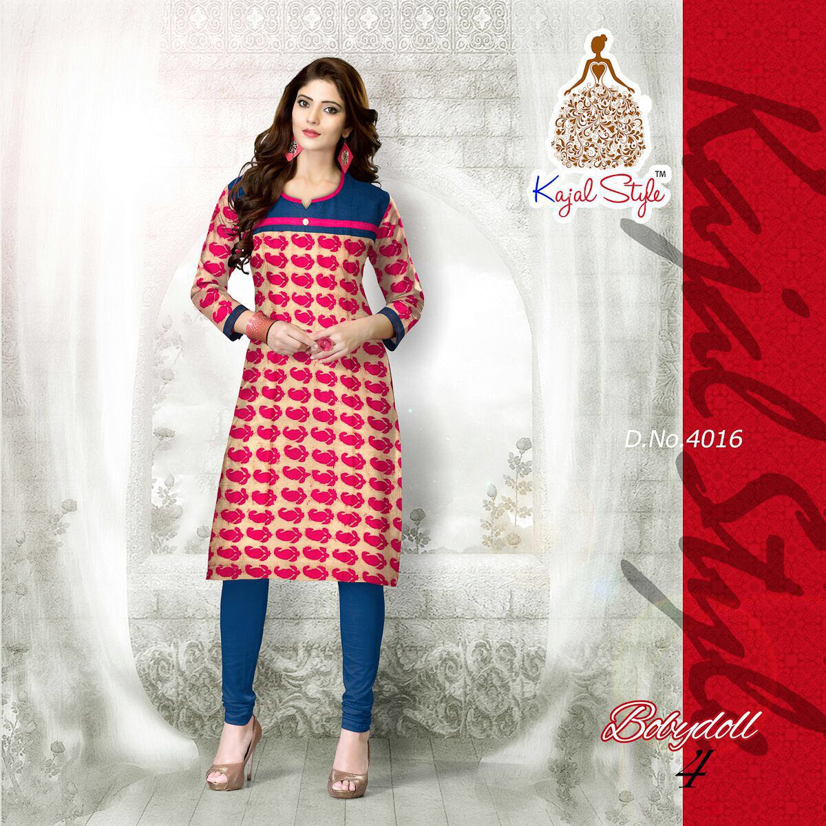 Kajal Style Baby Doll Vol 4 2 Jp Textiles Fashion Store For