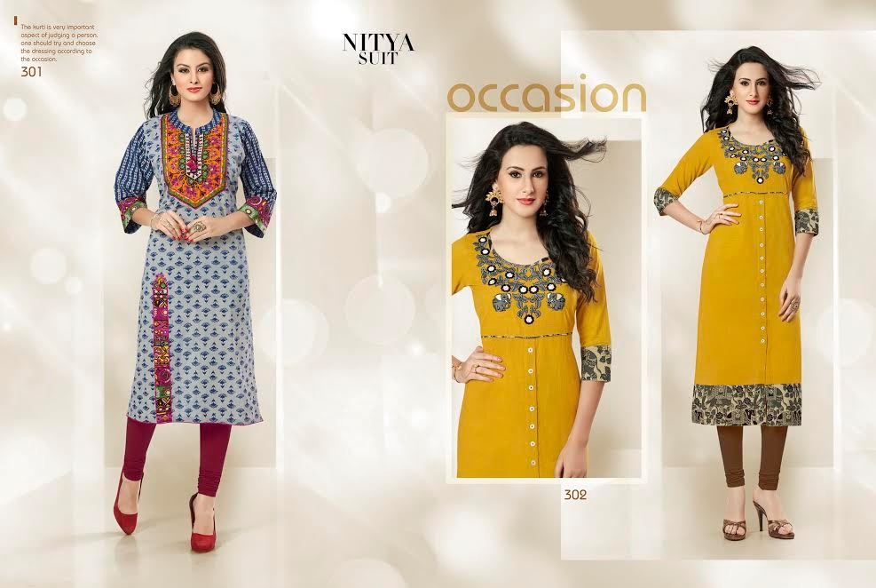 L T FABRICS - COTTON SPECIAL VOL-3 DECLAIR TO A DESIGNER KURTI AT WHOLESALE PRICE IN INDIA AT RS 595