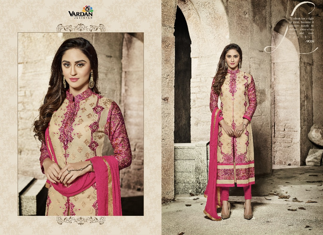 VARDAN CREAT TO A DESIGNER SUIT AT WHOLSALE PRICE IN INDIA AT RS 1060