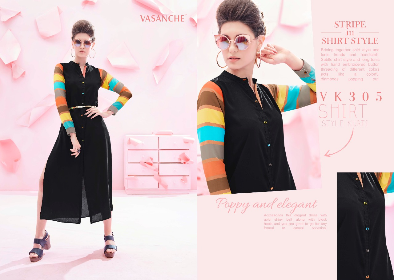 VASANCHE STRIPS SUIT AND DESIGNER KURTI AT WHOLESALE PRICE IN INDIA AT RS 825