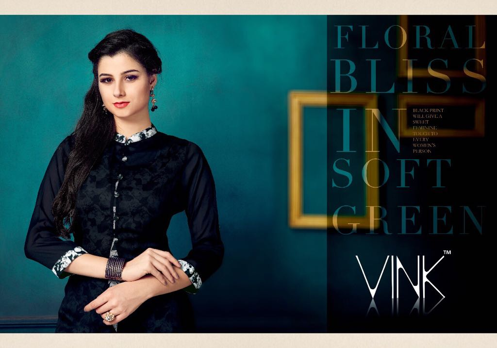 VINK FLAUNT 2 KURTI COLLECTION ONLINE WHOLESALER IN SURAT AT WHOLESALER PRICE IN INDIA AT RS 850