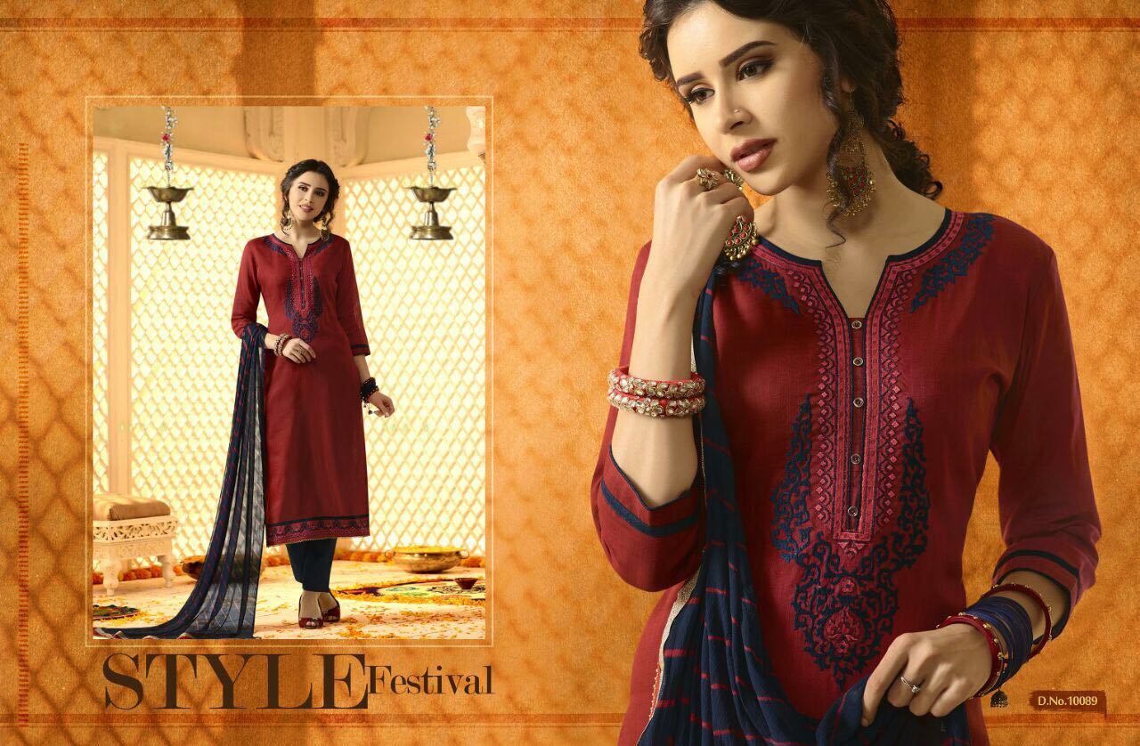 KESSI ANARDANA VOL 3 WHOLESALE SALWAR SUITS SUPPLIER INDIA BY JPTEXTILES PRICE RS 549