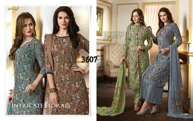 VAISHALI - INCREDIBLY CREATIVE SALWAR SUIT COLLECTION IN SURAT ONLINE PRICE RS 730