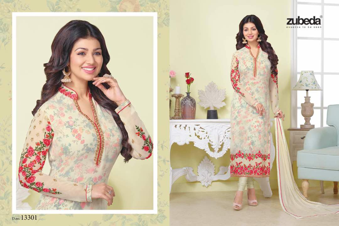 star collection vol 31 by zubeda designer wholesale georgette with embroidery work latest zudeba salwar kameez at wholesale rate 1295